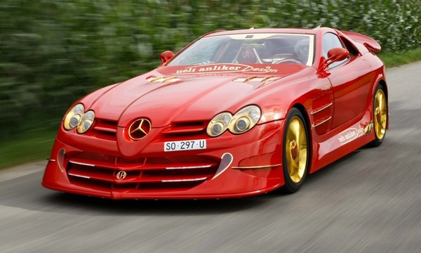 Mercedes SLR Red Gold Dream ценой в 11 000 000 $